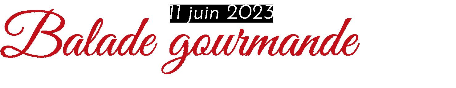 11 juin 2017 | Balade Gourmande | 35ème anniversaire | Rebbiboel's Payerne